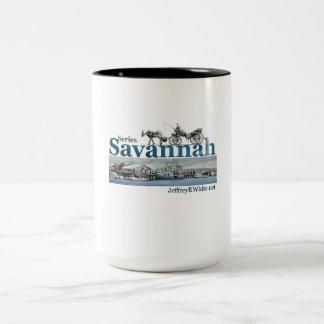 Savanne-Reihen-Tasse Zweifarbige Tasse