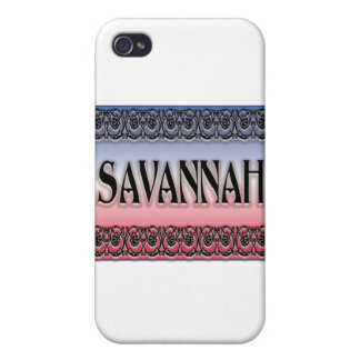 Savanne Scrollwork iPhone 4 Etui
