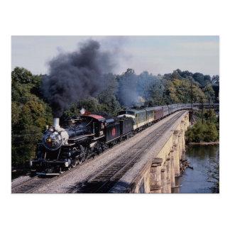 Savanne und Atlanta-Eisenbahn, Nr. 750, Nordcarol Postkarte