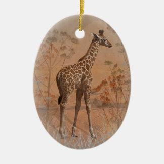 Savanne-Verzierung Keramik Ornament