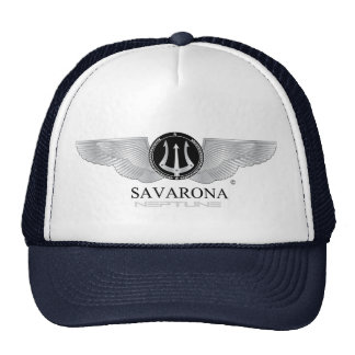 Savarona Neptun Logo-Fernlastfahrer-Hut Retrocap