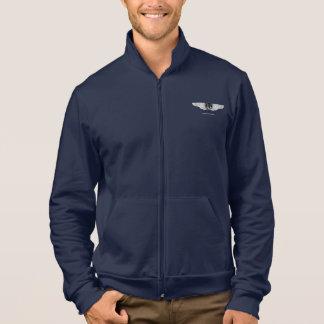Savarona Neptun Logo-Fleece-Ziprüttler Jacke