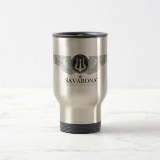 Savarona Neptun Logo-rostfreier Stahl-Reise-Tasse Reisebecher