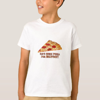 Save_Pizza_for BIGFOOT - Multi-Kleidung T-Shirt