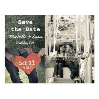 Save the Date 3 Postkarte