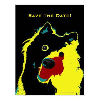 Save the Date 40. Geburtstags-glückliche Postkarten