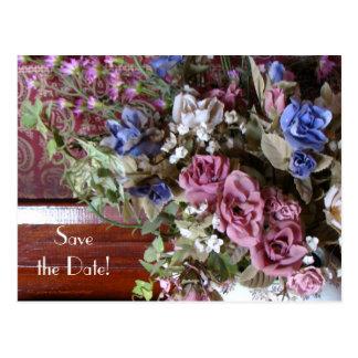 Save the Date 60. Postkarte