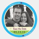 Save the Date Aufkleber