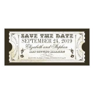Save the Date Aufnahmekarten Personalisierte Einladungskarte