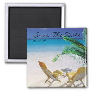Save the Date Bestimmungsort-Las- Vegashochzeit Magnete