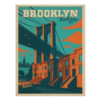 Save the Date | Brooklyn, NY Postkarte