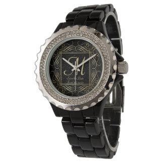 Save the Date elegantes Armbanduhr