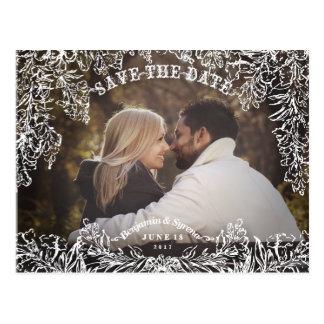Save the Date *Enchanted Garden* Postkarte