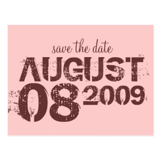 Save the Date - fertigen Sie besonders an Postkarte