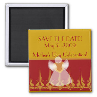 SAVE THE DATE! - Fertigen Sie besonders an Quadratischer Magnet