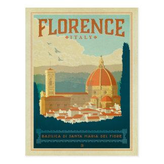 Save the Date | Florenz, Italien Postkarte