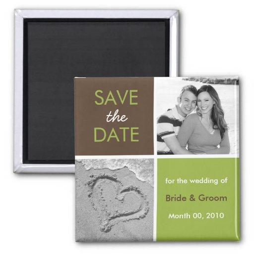Save the Date Fotomagneten Magnets