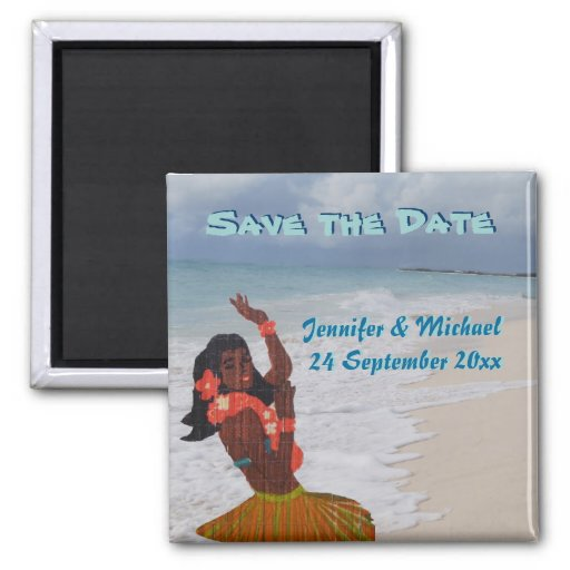 Save the Date hawaiische Hochzeit