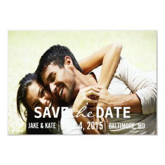 Save the Date/Hochzeit laden | wir ein 8,9 X 12,7 Cm Einladungskarte