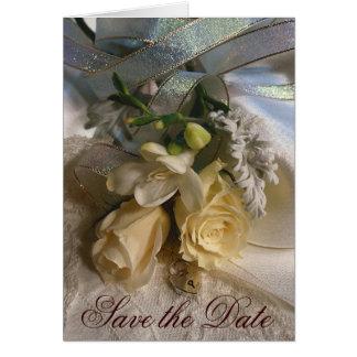 Save the Date Hochzeits-Karte Karte