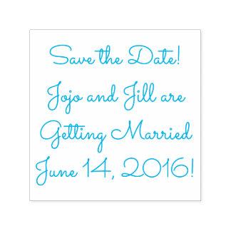 Save the Date Ihr Namens (Hochzeits-) Datum Permastempel