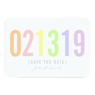 Save the Date Karte - Eiscreme-Tag 8,9 X 12,7 Cm Einladungskarte