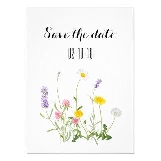 Save the Date Karte, rustikale Hochzeit, boho Karte