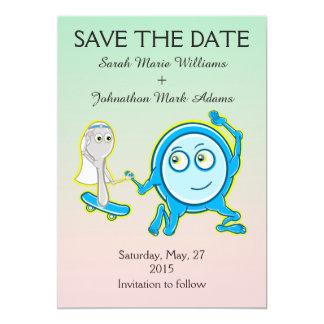 Save the Date Kinderzimmer-Reim-Hochzeit 12,7 X 17,8 Cm Einladungskarte