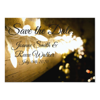Save the Date   Klassiker-Lichter Karte