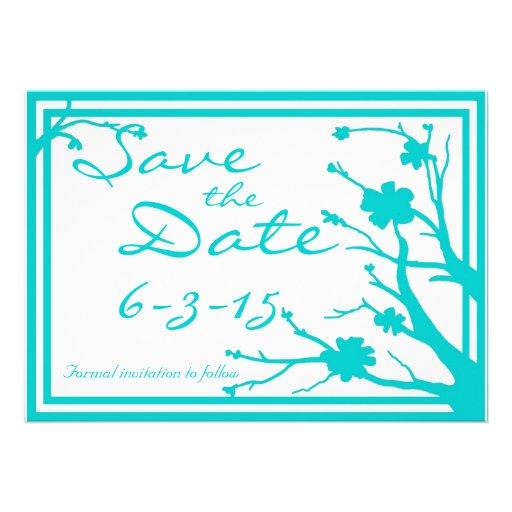 Save the Date laden kundenspezifische Individuelle Einladung