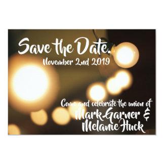 Save the Date   Lichter Karte
