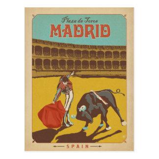 Save the Date | Madrid, Spanien Postkarte