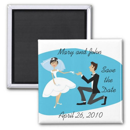 Save the Date Magnet Magnete