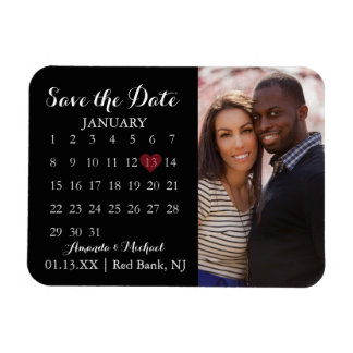 Save the Date Magnet - Foto-Kalender