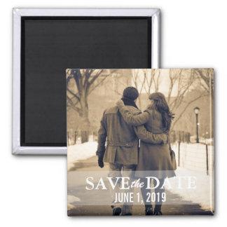 Save the Date Magnet Quadratischer Magnet
