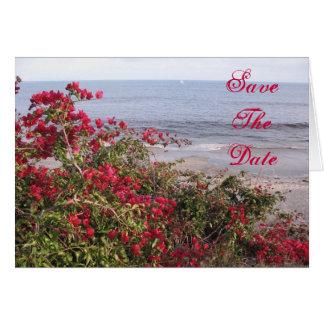 Save the Date Malibu Karte