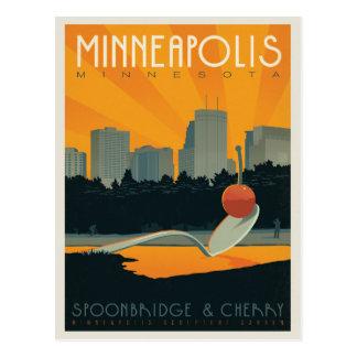 Save the Date   Minneapolis, Mangan Postkarte