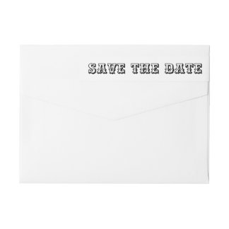 Save the Date mutiges Typografie-Skript