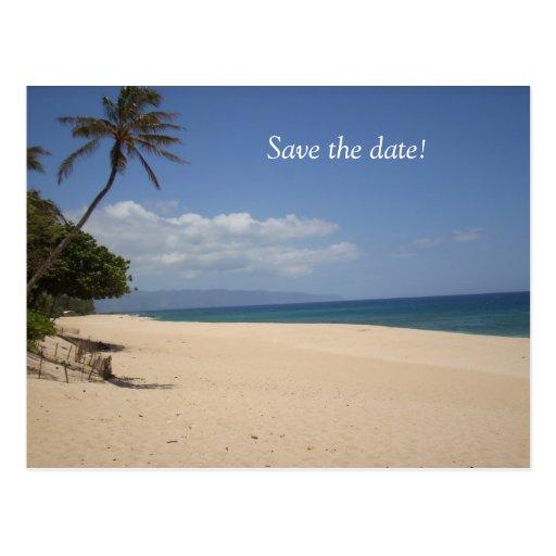 Save the Date! Postkarte