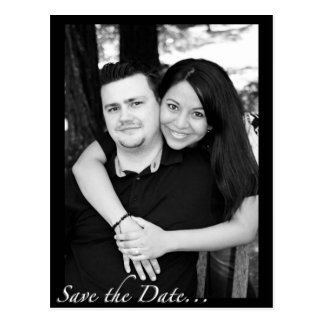 """Save the Date "" Postkarte"