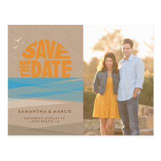 Save the Date Postkarte, Fotokarte, Postkarte