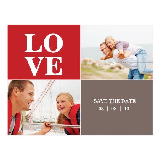 save the date postkarten liebe schablonen rottaupe postkarte zazzle. Black Bedroom Furniture Sets. Home Design Ideas