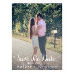 Save the Date Postkarten-Schablone Postkarten