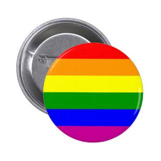 Save the Date/Regenbogen-Hochzeit/Gay Pride Anstecknadel