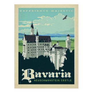 Save the Date Schloss | Bayern-, Neuschwanstein Postkarten