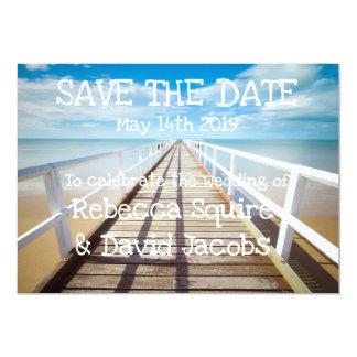 Save the Date   Strand Karte