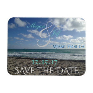 Save the Date Strand-Magnet Magnet