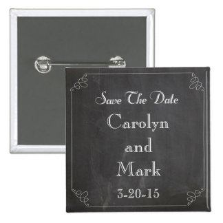 Save the Date Tafel-rustikale Vintage Hochzeit Anstecknadel