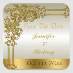 Save the Date Wedding Aufkleber