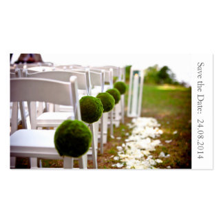 Save the Date Wedding - Geschäfts-Karte Visitenkarten